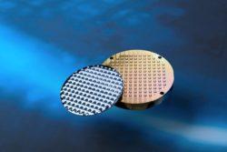 Labormuster für die Produktion von Infrarotoptiken aus Chalkogenidglas im Wafer-Maßstab (100 mm)